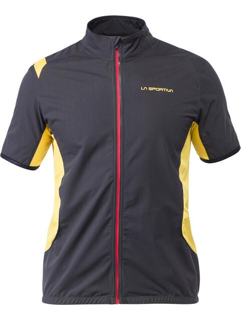 La Sportiva Mach - Chaleco running Hombre - amarillo/negro